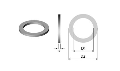 Technische tekening - Steunring & Pasring